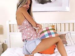 Super-cute, innocent teen Gina Gerson